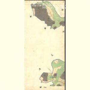 Unter Schlagel - c1273-1-009 - Kaiserpflichtexemplar der Landkarten des stabilen Katasters
