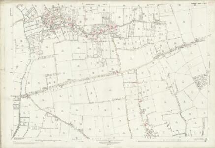 Somerset LXXIII.1 (includes: High Ham; Huish Episcopi; Long Sutton; Pitney; Somerton) - 25 Inch Map