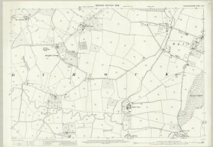 Gloucestershire X.14 (includes: Dymock; Pauntley) - 25 Inch Map