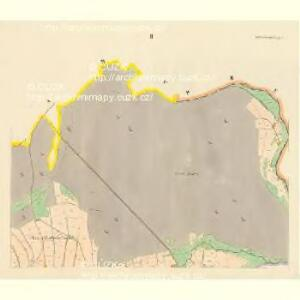 Schwarzwasser (Černávoda) - c0875-1-002 - Kaiserpflichtexemplar der Landkarten des stabilen Katasters