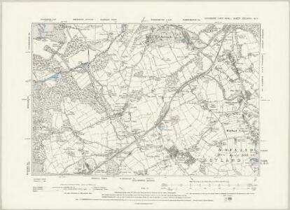 Yorkshire CCLXXVIII.SE - OS Six-Inch Map