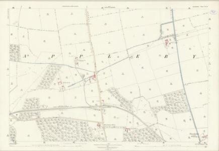 Lincolnshire XI.14 (includes: Appleby; Roxby cum Risby) - 25 Inch Map