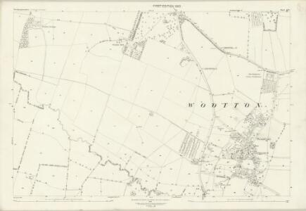 Northamptonshire LII.1 (includes: Collingtree; Hardingstone; Milton Malsor; Wootton) - 25 Inch Map