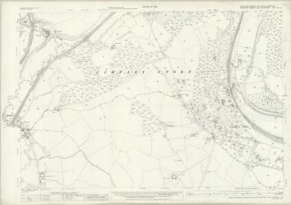 Wiltshire XXXI.16. & 15 & XXXVIIIa.4 (includes: Bath; Combe Hay; Freshford; Hinton Charterhouse; Limpley Stoke; Monkton Combe; South Stoke; Wellow; Winsley) - 25 Inch Map