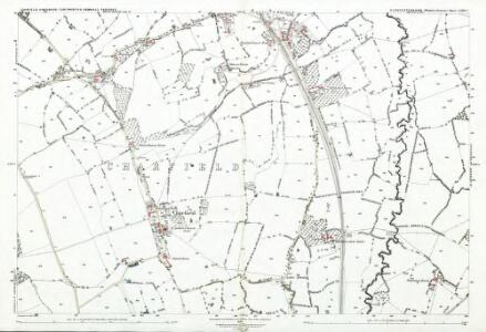 Gloucestershire LXIV.2 (includes: Charfield; Cromhall; Kingswood; Tortworth) - 25 Inch Map