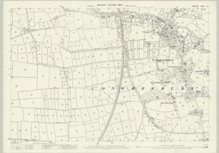 Somerset X.12 (includes: Congresbury) - 25 Inch Map