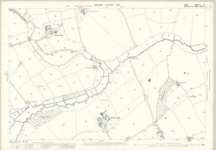 Suffolk LXXII.14 (includes: Ballingdon; Belchamp Walter; Borley; Bulmer) - 25 Inch Map