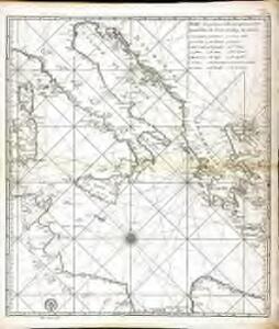 Carte reduite de la Mer Mediterranée, 2