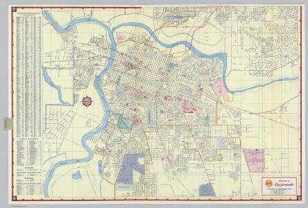 Shell Street Map of Sacramento.