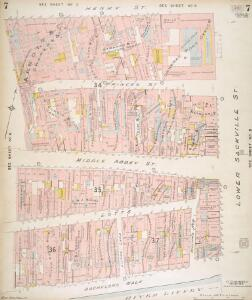 Insurance Plan of the City of Dublin Vol. 1: sheet 7