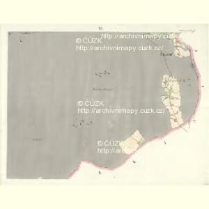 Gross Aurzim (Welky Auřim) - c8466-1-011 - Kaiserpflichtexemplar der Landkarten des stabilen Katasters