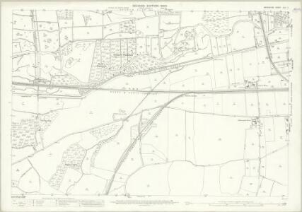 Berkshire XLII.4 (includes: Enborne; Newbury; Speen) - 25 Inch Map