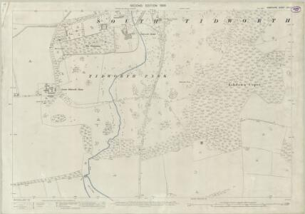Hampshire and Isle of Wight XXII.3 (includes: Shipton Bellinger; South Tedworth) - 25 Inch Map