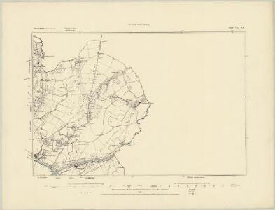 Somerset VIII.SW - OS Six-Inch Map