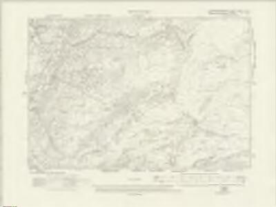 Caernarvonshire XXVIII.NE - OS Six-Inch Map