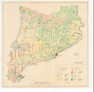 Distribució proporcional dels principals conreus a Catalunya