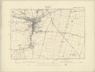 Cambridgeshire XVI.SE - OS Six-Inch Map