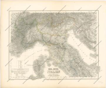 Ober und Mittel Italien