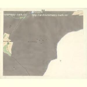 Ostrawitz - m2189-1-038 - Kaiserpflichtexemplar der Landkarten des stabilen Katasters