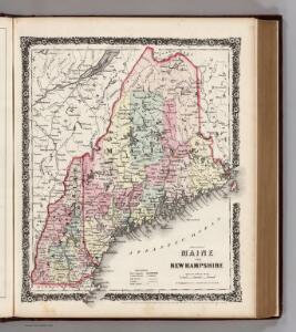Maine and New Hampshire.