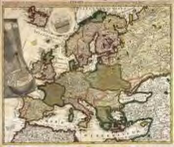 Eclipseos solis totalis cum mora, d. 12 maji 1706 horis antem: in Europa celebratæ, geographica repræsentatio