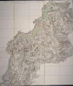 Situations Carte von der Gegend um Trier und den teutschen und französischen Positionen An. 1793 und 1794