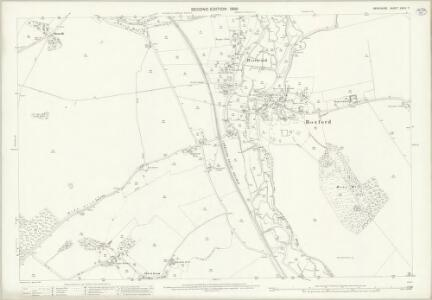 Berkshire XXXIV.7 (includes: Boxford; Welford) - 25 Inch Map