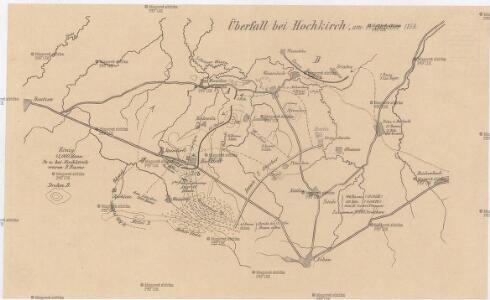 Überfall bei Hochkirch, am 14. Oktober 1758