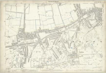 London (Edition of 1894-96) XCIII (includes: Borough Of Greenwich) - 25 Inch Map