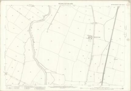 Nottinghamshire XXXV.15 (includes: Balderton; Cotham; East Stoke; Farndon; Hawton; Thorpe) - 25 Inch Map