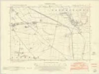 Yorkshire CXXIV.SE - OS Six-Inch Map