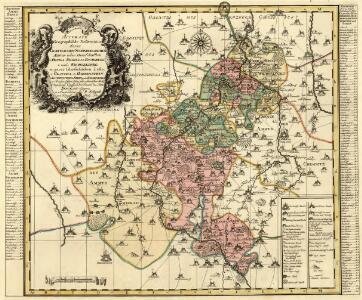 Accurate Geographische Delineation derer Graefflichen Schönburgischen Aemter oder Herrschafften