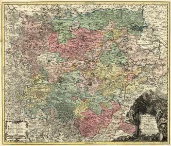 Landgraviatus Thuringiae juxta recentiss: designation in suos Principatus, Status et Praefecturas accuratissme divisus studio et impensis