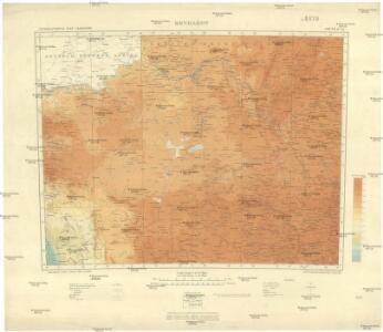 International map 1:1,000,000