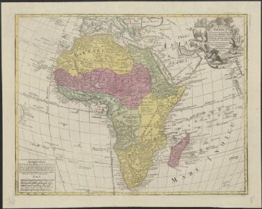 Africa : concinnata secundum observationes membror. Acad. Regal. Scientiarum, et nonmillorum aliorum, et juxta recentissimas annotationes