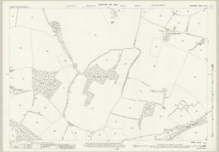 Hampshire and Isle of Wight XLIX.3 (includes: Hursley) - 25 Inch Map