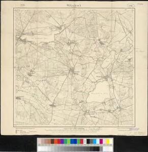 Meßtischblatt 2041 : Wildenbruch in der Mark, 1911