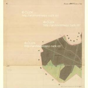 Grussbach - m0920-1-005 - Kaiserpflichtexemplar der Landkarten des stabilen Katasters
