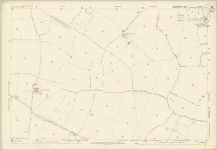 Huntingdonshire VIII.15 (includes: Barnwell; Hemington; Polebrook; Thurning) - 25 Inch Map