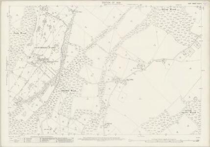 Kent XLIV.11 (includes: Eastling; Otterden; Stalisfield) - 25 Inch Map
