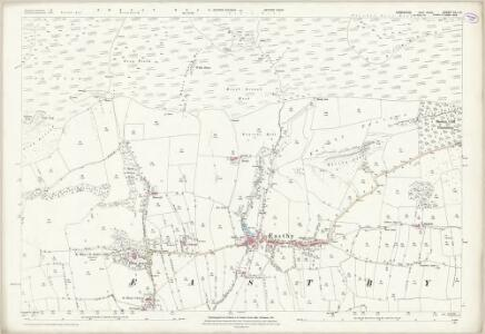 Yorkshire CLI.14 (includes: Embsay With Eastby) - 25 Inch Map