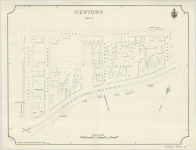 Newtown, Sheet 9, 1890