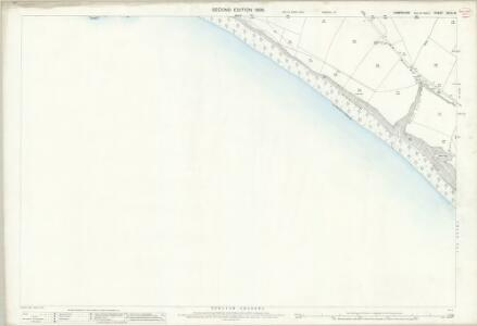 Hampshire and Isle of Wight XCVII.16 (includes: Chale; Shorwell) - 25 Inch Map