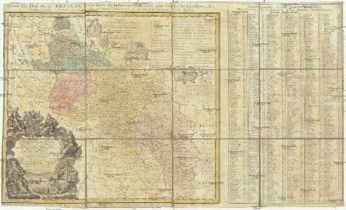 Carte du diocese de Breslav