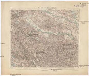 Agram, Brod, Esseg, Glina, Knin, Sarajevo