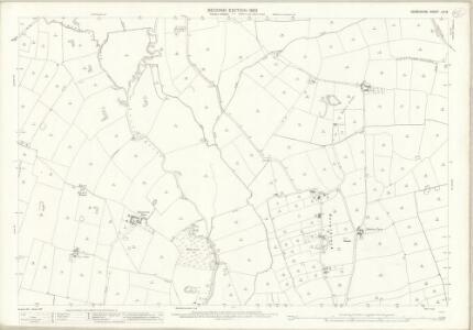 Derbyshire LIII.8 (includes: Ash; Church Broughton; Hatton; Hilton; Hoon; Marston on Dove; Sutton on the Hill) - 25 Inch Map