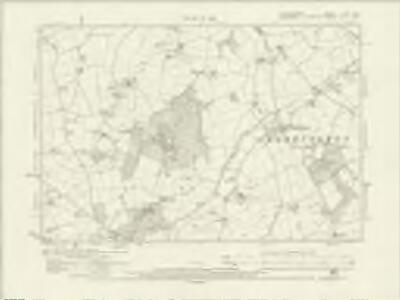 Staffordshire LXVI.SW - OS Six-Inch Map