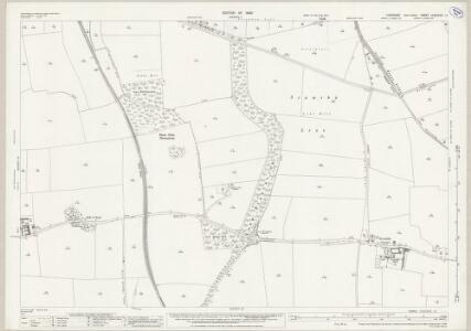 Yorkshire CCLXXVI.11 (includes: Adwick Le Street; Bentley With Arksey; Brodsworth; Marr) - 25 Inch Map