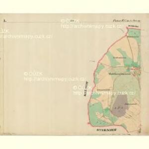 Fleken - c1669-1-001 - Kaiserpflichtexemplar der Landkarten des stabilen Katasters