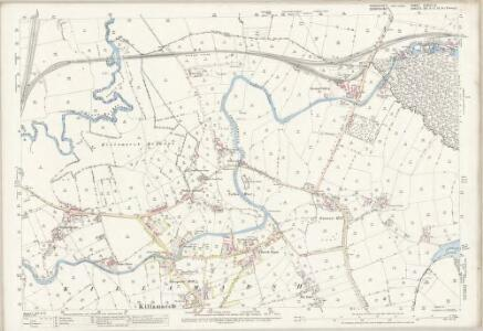Yorkshire CCXCIX.8 (includes: Beighton; Harthill With Woodall; Killamarsh; Wales) - 25 Inch Map